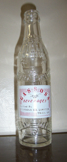 The Gassosa Bottle, courtesy of Trail Museum.